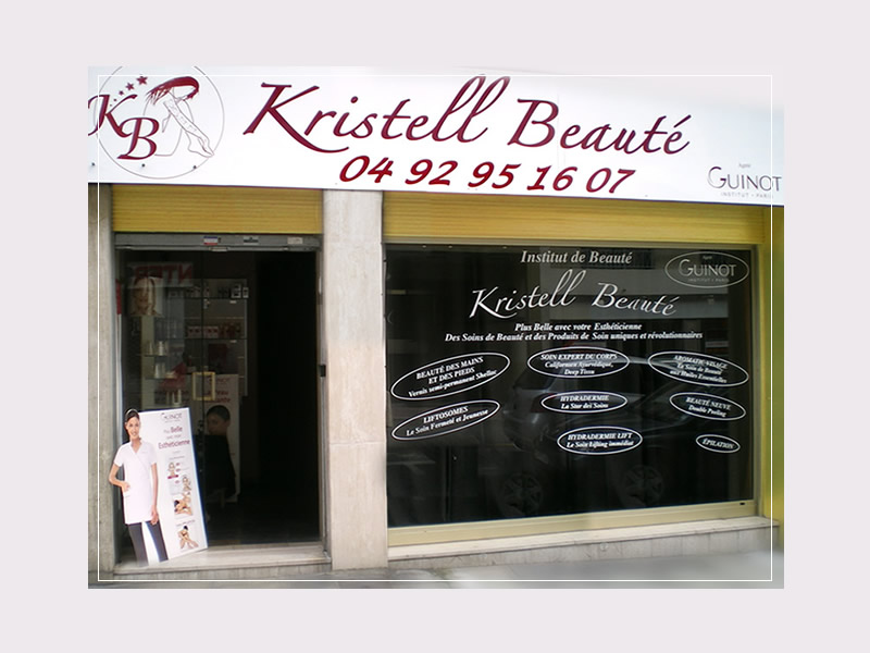 Kristell Beauté, 11 avenue Guillabert à Antibes